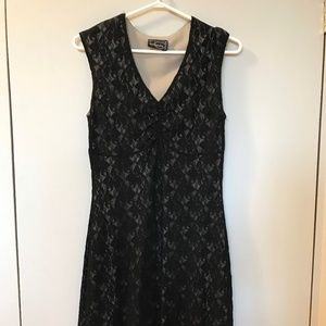Dynamite black lace dress
